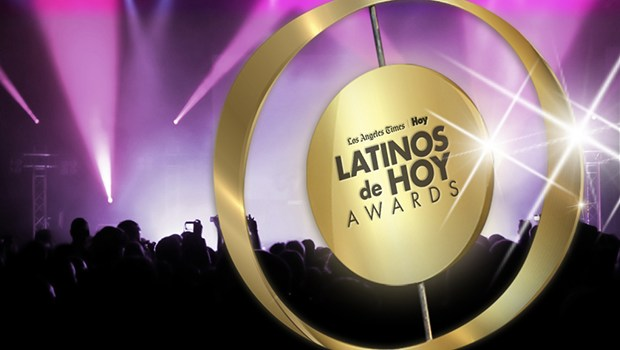 "LA Times and Hoy ""Latinos de Hoy"" Awards logo (public domain)"