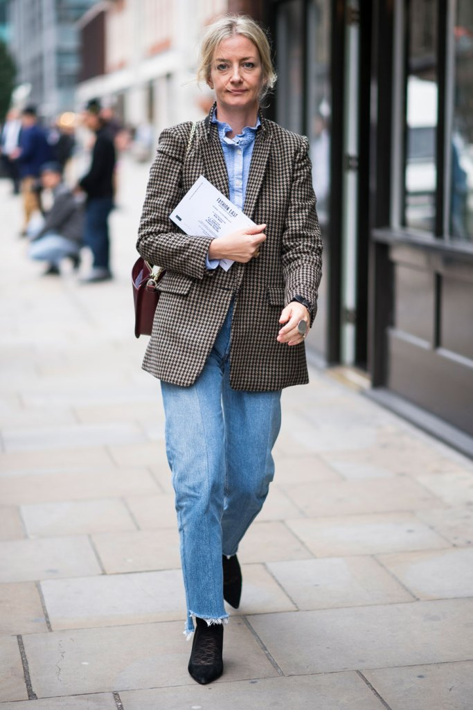 London Fashion Week Street Style Spring 2017 Day 2 Details The Impression