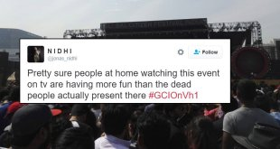 People Complaining & Making Jokes About Dead Crowd At Global Citizen Fest