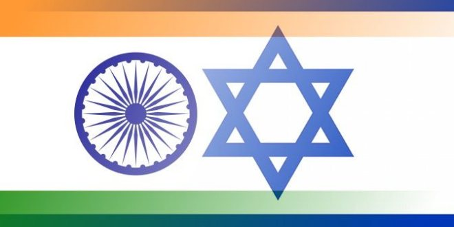 India-Israel-flags