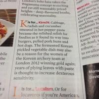 korean women & kimchi