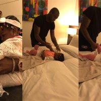 These new photos of Davido changing diapers and feeding his daughter will melt your heart