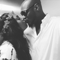 Annie Idibia shares loved up photo with 2face, celebrates her stepson, Nino