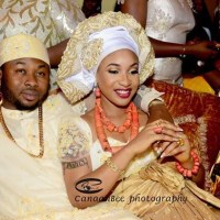 See official traditional wedding pictures of Tonto Dikeh and her N11.5 million...