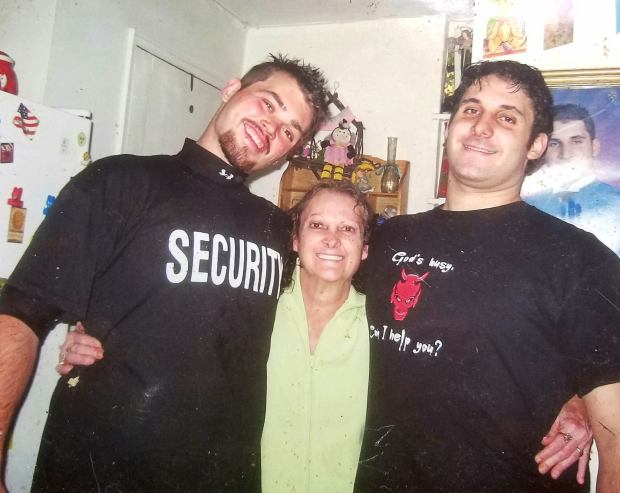 Kristian, mother Karla, and brother Robert Sorbera (Photo courtesy of Toni Brandstetter)