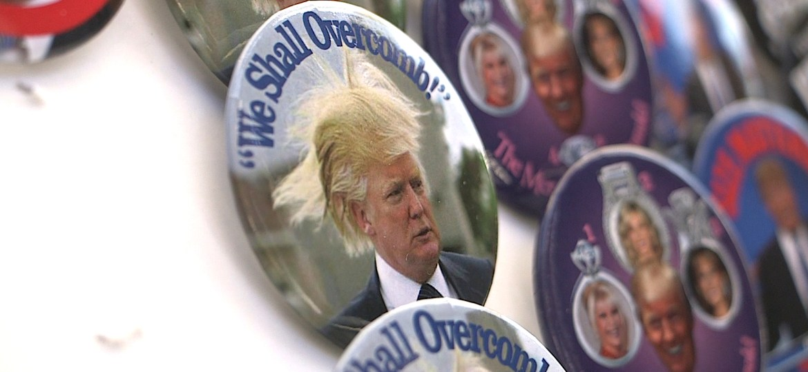 Trump Buttons Sell Well In New York
