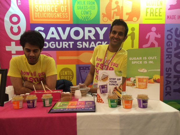 Anshu Dua and Shiraz Noor aim to reinvent the way Americans consume yogurt. (The Ink NYC / Valerie Dekimpe)
