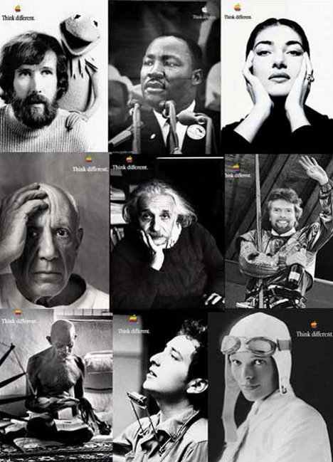 Apple Think Different Campaign Montage