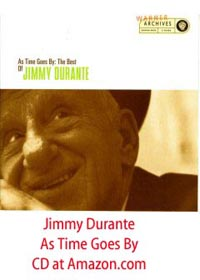 Jimmy Durante As Time Goes By CD at Amazon.com