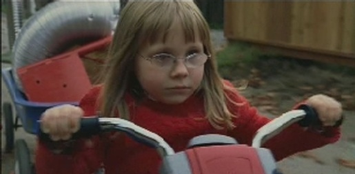Girl in JC Penney Aviator television commercial