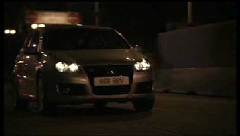 VW Polo in Nightdriving TV ad