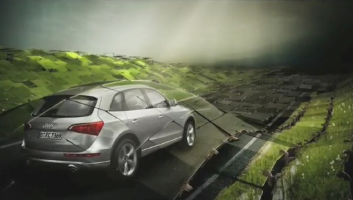 Audi Q5 in Synchronized television commercial