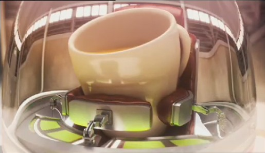 Nescafe Space Cup