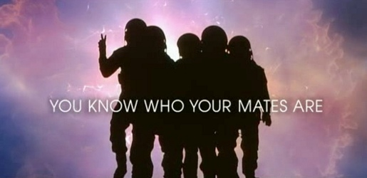 Spacemen in Carling Space commercial - You Know Who You Mates Are