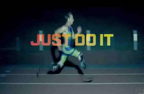 Oscar Pistorius in Nike Courage ad