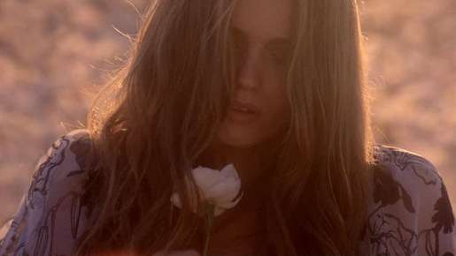 Abbey Lee in Gucci Flora commercial