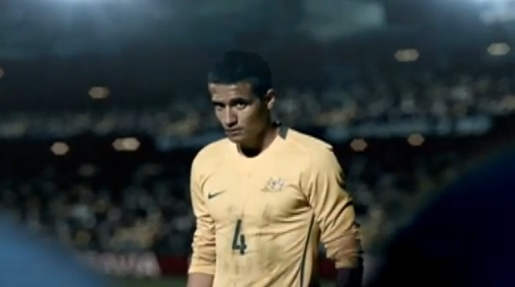 Tim Cahill a Weetbix Kid in Opera commercial