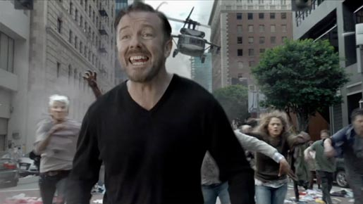 Ricky Gervais Time Warner