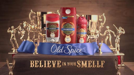 Old Spice Champion Trophies