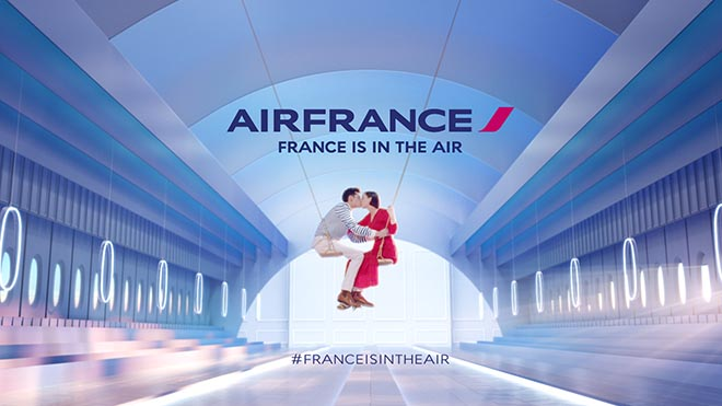 France is in the air - The Kiss