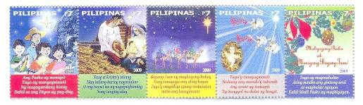 Philippines Christmas Stamps 2009