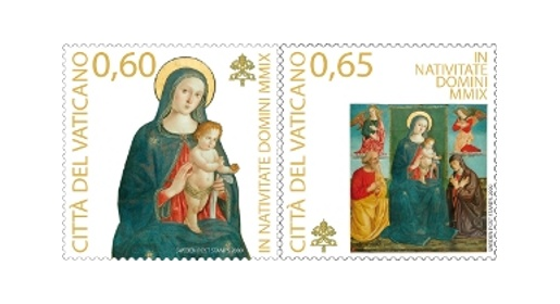 Vatican Christmas Stamps 2009