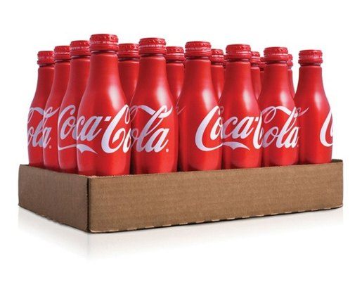 Coca Cola bottles designed by Turner Duckworth