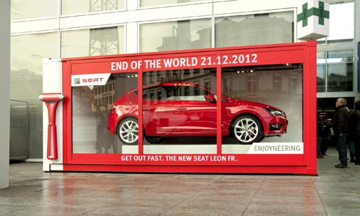 SEAT End of the World car