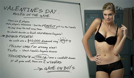 Valentines Day Rules Interactive site