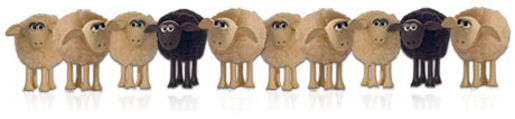 NPower Wallace and Gromit Insulation Sheep