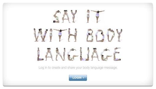 Dove Say It With Body Language
