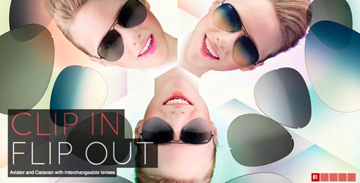 Ray Ban Clip In Flip Out website