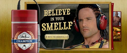 Old Spice Believe In Your Smelf site