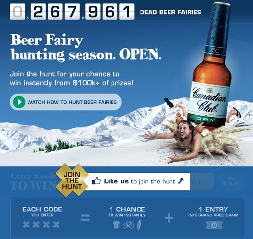 Beer Fairy Hunting Season on Facebook