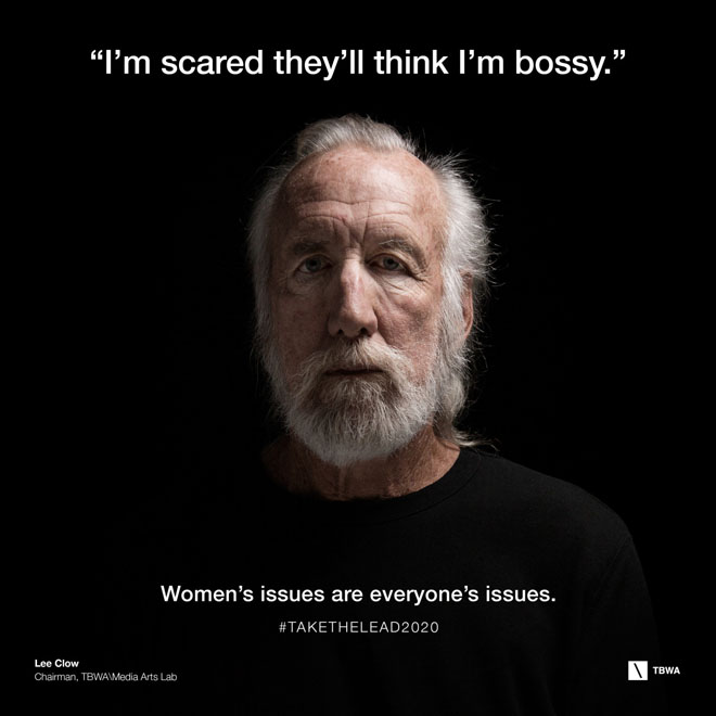 TBWA Take The Lead on Gender Equality in the workplace - Lee Clow