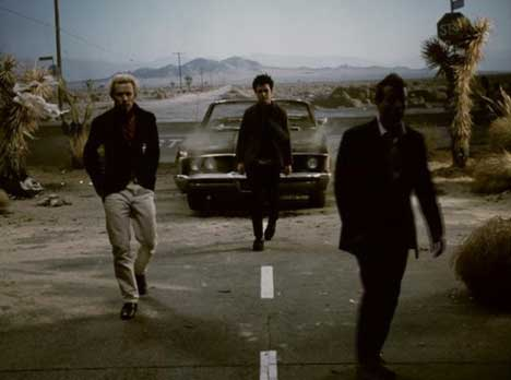 Green Day in Boulevard of Broken Dreams music video