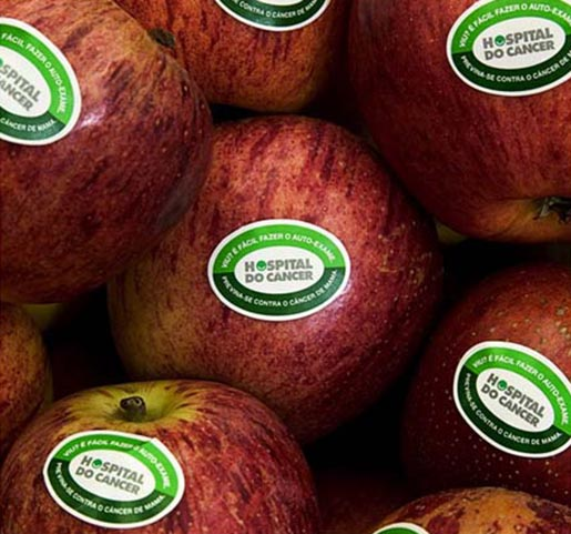Apples in Hospital Do Cancer campaign