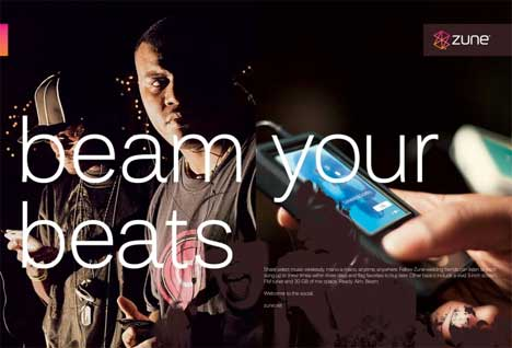 Beam Your Beats