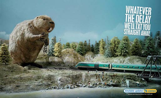 Giant Beaver in Connex Poster