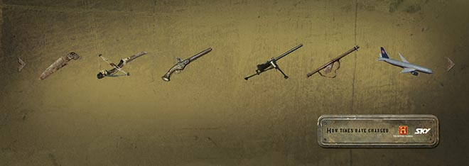 Weapons through the ages