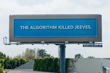 The Algorithm Killed Jeeves