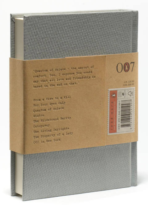 Quantum of Solace back cover
