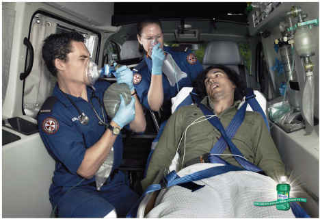 Listermint needed in Ambulance