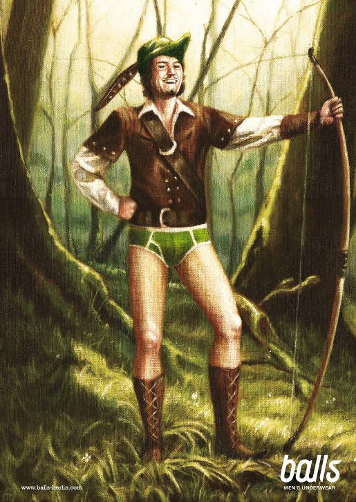 Robin Hood with Balls Underwear
