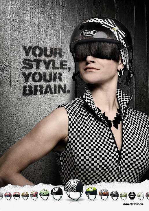 Nutcase Your Style Your Brain poster