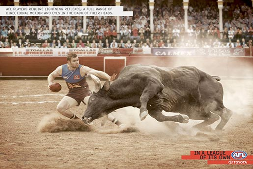 AFL Bullfight