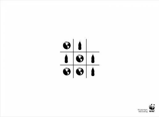 WWFTic Tac Toe game with Earth