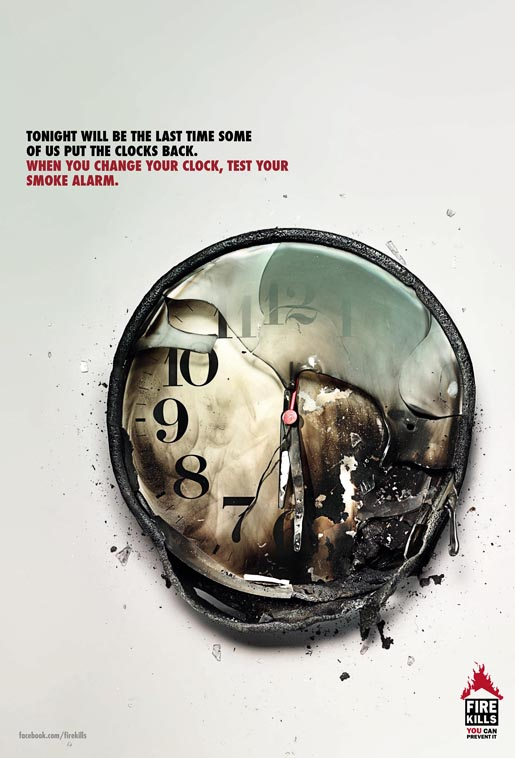 Fire Safety Clock