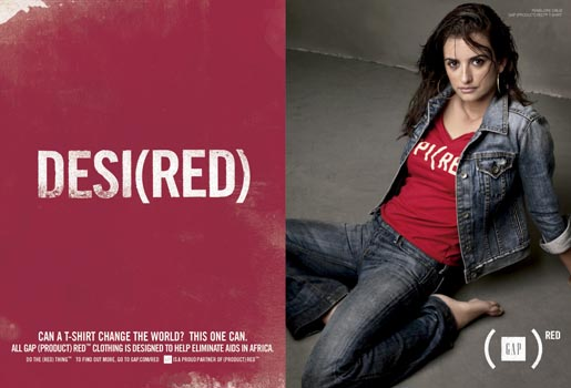 Gap Do The Red Thing - Penelope Cruz Desi(red)