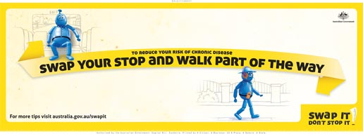Swap Your Stop for a Walk to the Next